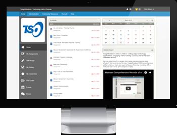 TargetSolutions online platform desktop