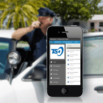 mobile online security guard training